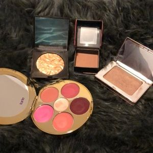 Combo! Lips, bronzer, blush, and highlighter!!
